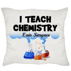 Kimya Öğretmenine Hediye Yastık