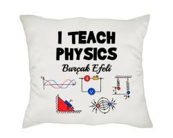 Fizik Öğretmenine Hediye Yastık