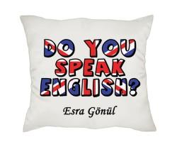 İngilizce Öğretmenine Hediye Yastık