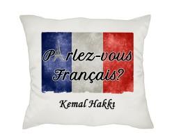 Fransızca Öğretmenine Hediye Yastık