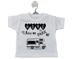 Motokaravan Temalı Hediyelik Vantuzlu Araba Mini Tişört