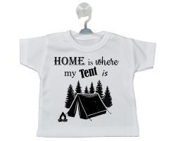 Kamp Temalı Hediyelik Vantuzlu Araba Mini Tişört