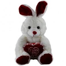 Sevgiliye Hediye Peluş Oyuncak Tavşan (30 cm)