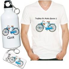 Bisiklet Temalı Sevgili Hediye Seti - Erkek Bisikletçiye Hediye