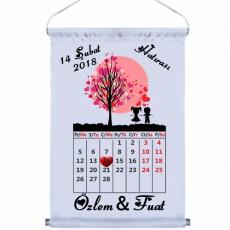 14 Şubat Sevgililer Günü Hediyesi Takvim