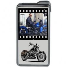 Motorcu Hediyesi Fotoğraflı Çakmak