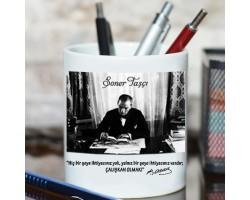Atatürk Fotoğraflı Hediyelik Kalemlik