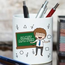 Erkek Öğretmene Hediye İsimli Kalemlik