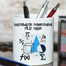 Matematik Öğretmenine Hediye - Öğretmenler Günü Hediyesi Kalemlik
